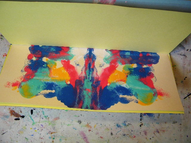 ink blot page