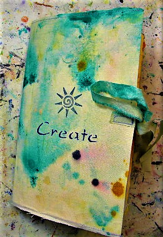 make your own art journal